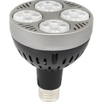 LED-alternativ til 70W mewtalhalogen