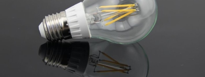 "Ny type LED-pære med ""retrolook"""