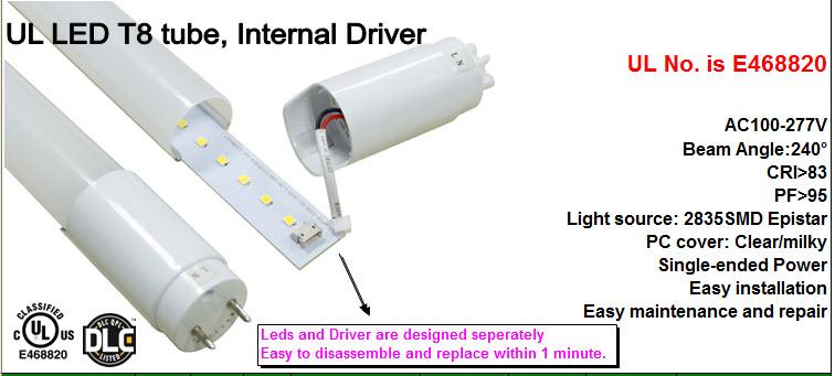 LED-rør med lang levetid og gode lysegenskaber