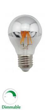 Langt om længe en topforspejlet LED-pære