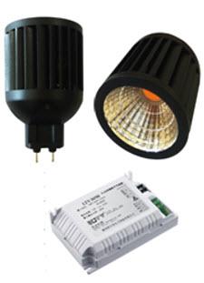 Skift metalhalogen til LED