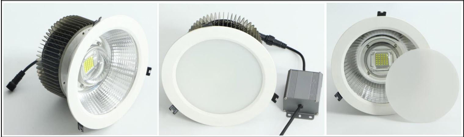 50-200W LED - tilsvare ca500-2.000W halogen eller glødepære