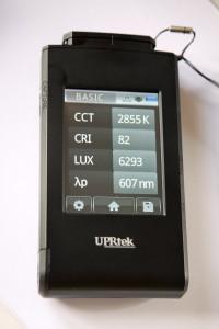 MK-350-II - Så behøver du aldrig mere være i tvivl om lysets kvalitet og egenskaber!!