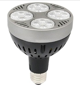 LED-alternativ til 70W mewtalhalogen